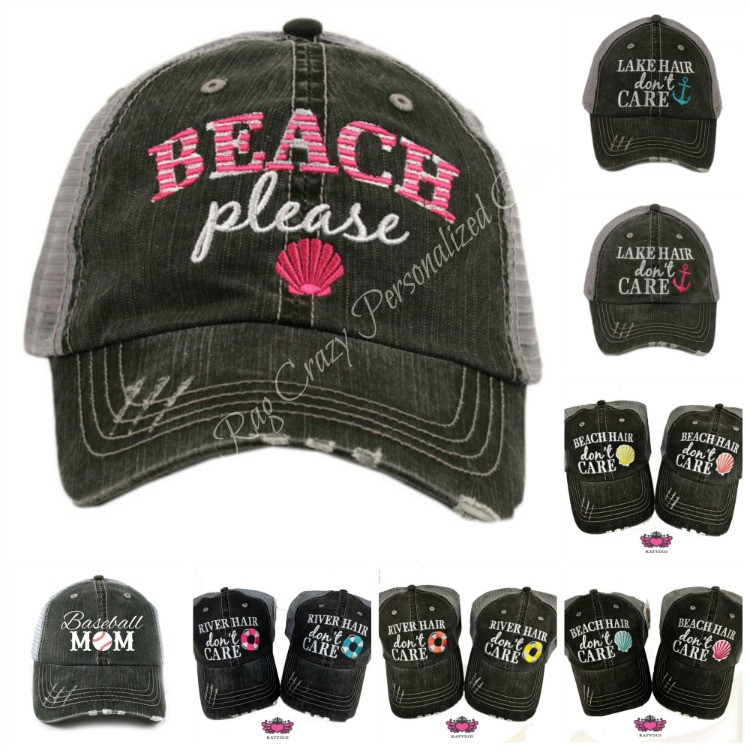 Beach Hair Hats